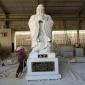 福建惠安 厂家直销 孔子像雕像 花岗岩汉白玉孔子石雕 历史人物石雕 繁荣石业